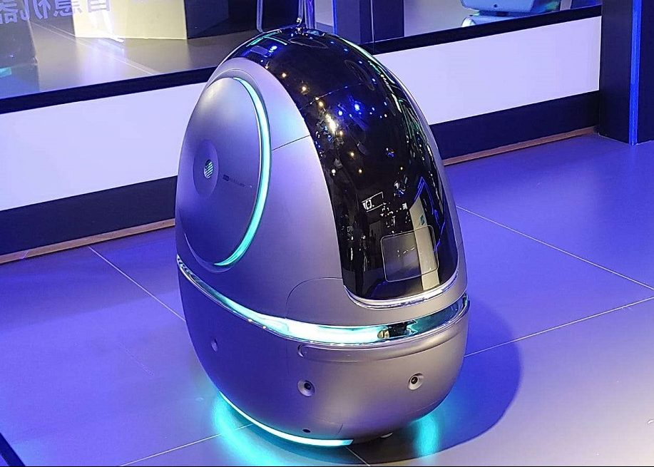 Робота-портье Space Egg для доставки