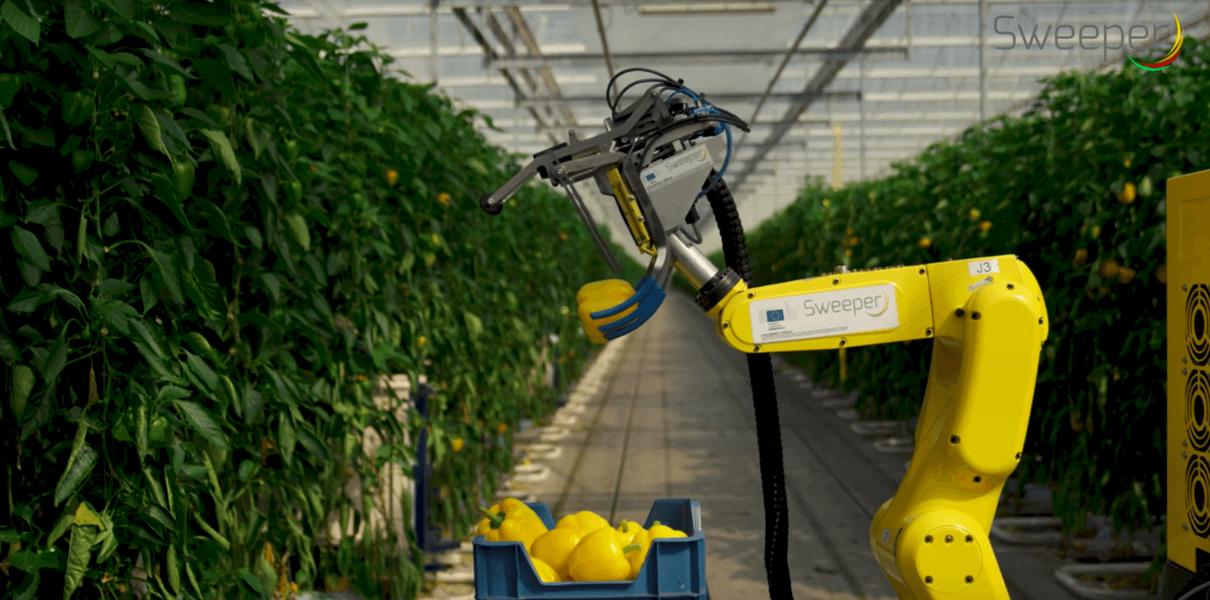 Сельскохозяйственный робот Sweeper