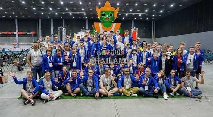 Сборная России завоевала два золота и бронзу на Всемирной олимпиаде роботов