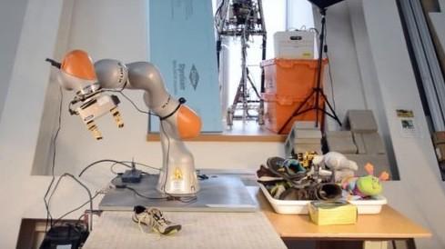 DON — робот, способный обращаться с абсолютно новыми для него объектами