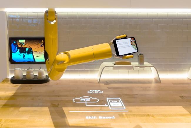 Samsung расширяет линейку роботов Bots