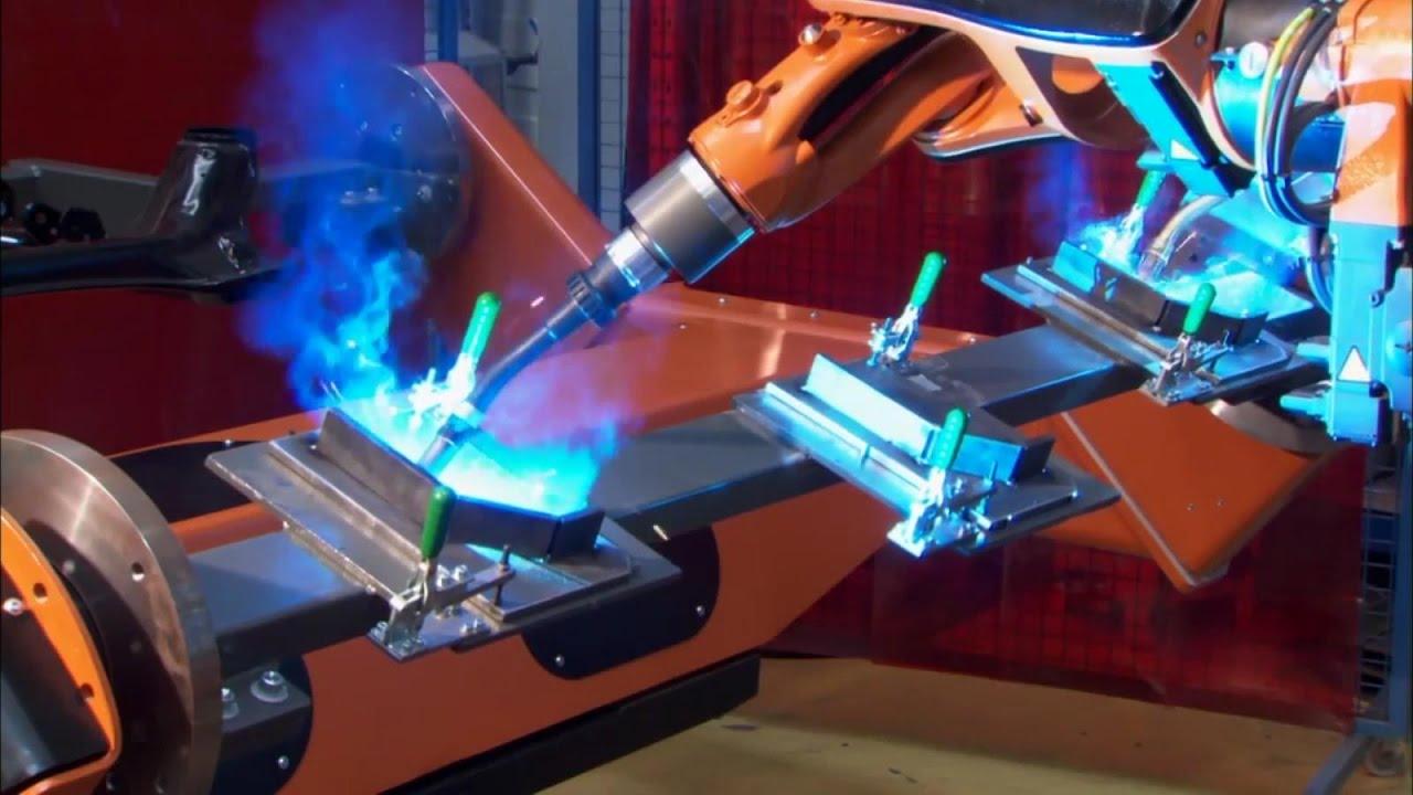 Роботы-сварщики на производстве будут управляться силой мысли
