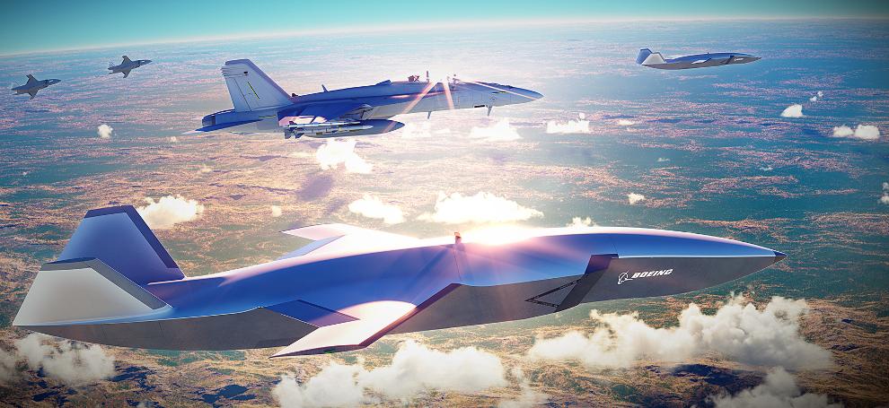 Беспилотный истребитель Boeing Airpower Teaming System
