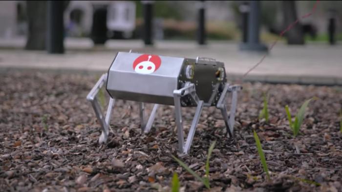 Робот-трюкач с открытой архитектурой